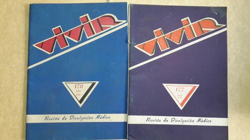 revista vivir, 177, 178, divulgación médica, 1957