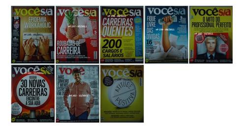 revista voce sa - edições de 1999 a 2012 - preço unitario