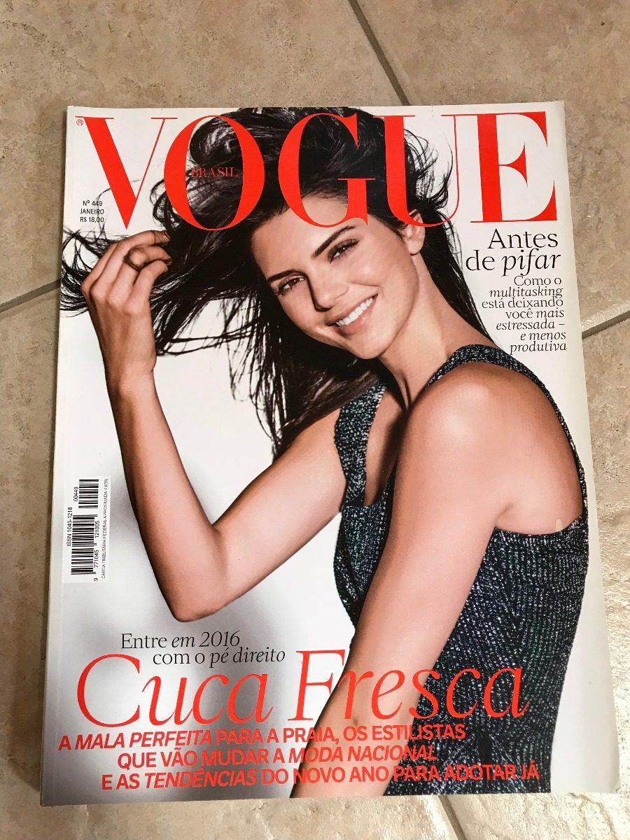 2dd85627d Revista Vogue 449 Kendall Jenner Cauã Reymond David Bowie - R  27