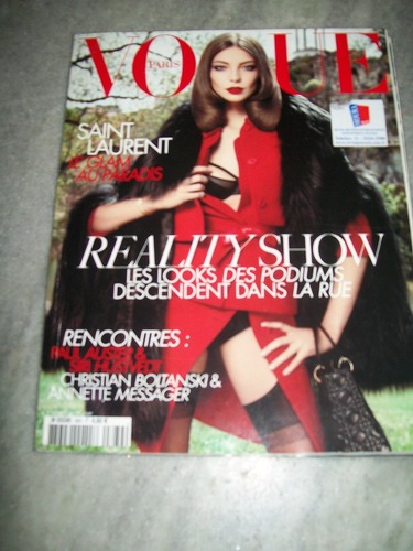 revista vogue paris nº 889 - daria werbowy - 08/2008