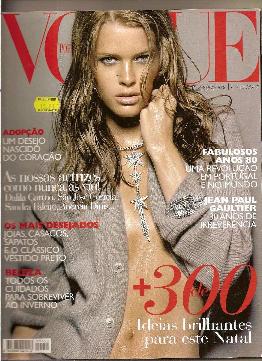 b23db6f5c70ad Revista Vogue Portugal - Jean Paul Gaultier - R  17,00 em Mercado Livre