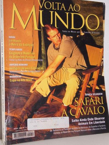 revista volta ao mundo safari a cavalo abril 1999