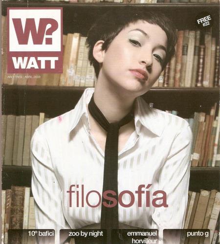 revista watt 22 10 bacifi sofia gala horvilleur