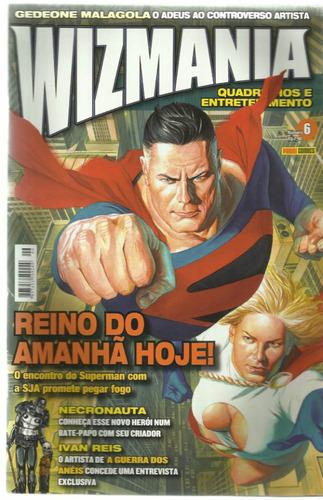 revista wizmania nº 6  panini comics