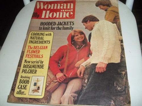 revista woman and home  março/1978