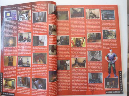revista world games castlevania e resident evil 1 e 2