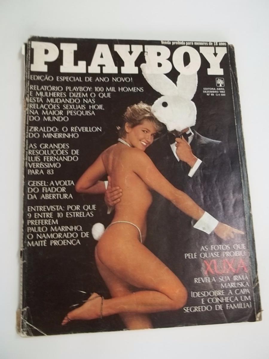 revista xuxa playboy 1982 especial de ano novo xuxa nua rara