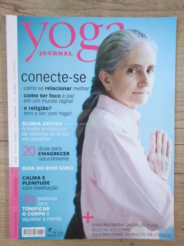 revista yoga journal  março 2012