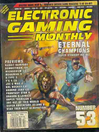 revista/electronic gaming monthly 1993 no53