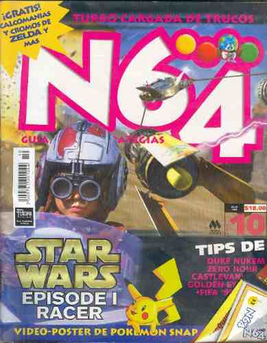 revista/magazine    n64  no 10 1999