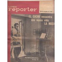 1960 Revista Reporter Nº 1 Carlos Maria Gutierrez Escasa