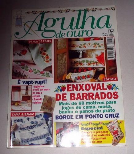 revistas agulha ouro