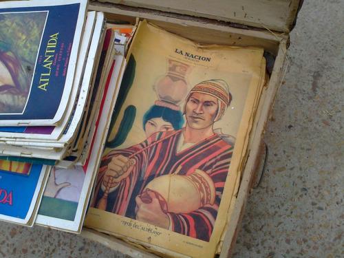 revistas antiguas, atlántida y otras, escucho ofertas