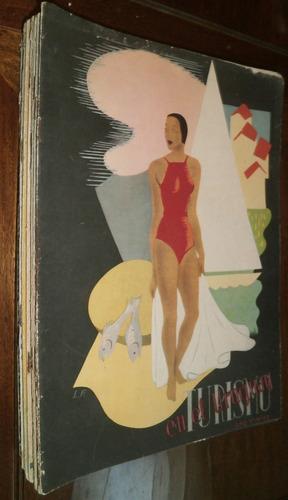 revistas antiguas turismo en uruguay varios números