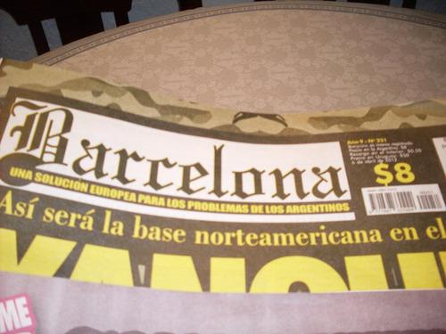 revistas barcelona mas de 250 ejemplares para coleccionistas