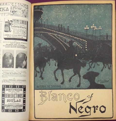 revistas blanco y negro - 1901