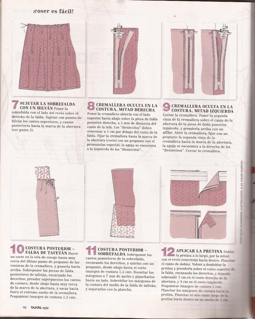 Revistas Burda Con + De 60 Patrones En Físico-nunca Usada - Bs. 450 ...