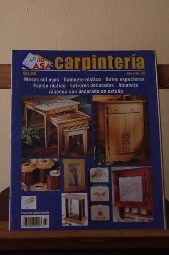 revistas carpinteria hecho en casa proyectos paso a paso