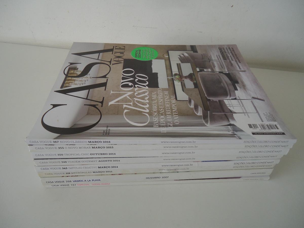 f607f339f Revistas Casa Vogue - Preço Por Revista - R$ 23,63 em Mercado Livre