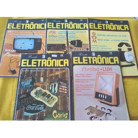 f568ce7f34 Saber Eletrônica Dos Anos 1978 A 1980 Lote 5 Revistas Oferta