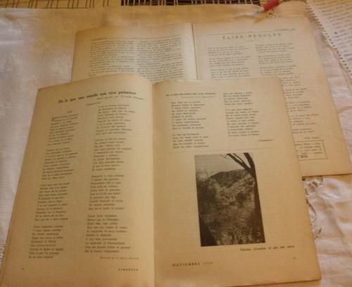 revistas cimarron elias regules nº1 y nº 30,año 1935 y 38
