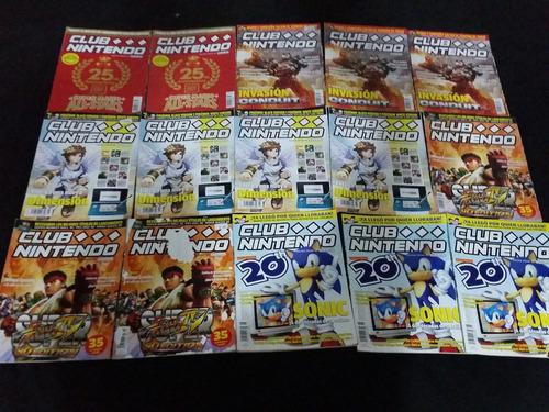 revistas club nintendo año 20