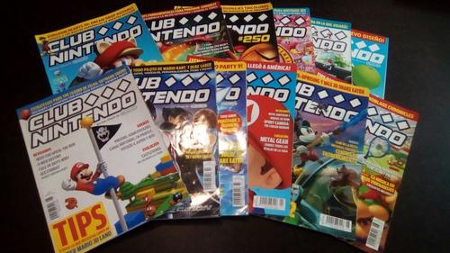 revistas club nintendo año 21