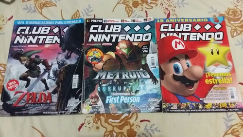 revistas club nintendo micromania guia ps3 playmania