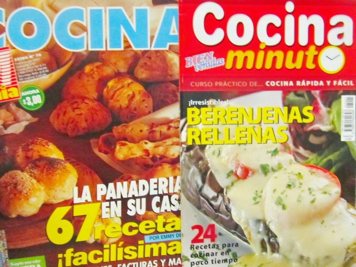 Lote De 4 Revistas Cocina Cocina Argentina Y Cocina Minuto 114