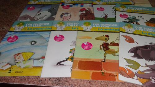 revistas coleccion con francisco a mi lado