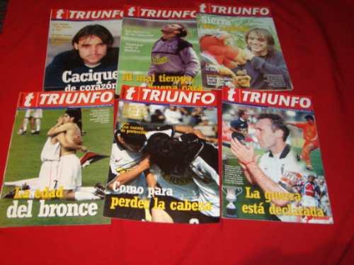 revistas colo colo, 1999 al 2000,  revista triunfo (6)
