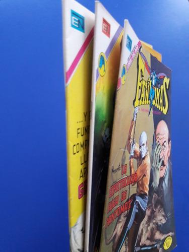 revistas comic fantomas set de 3  ed novaro