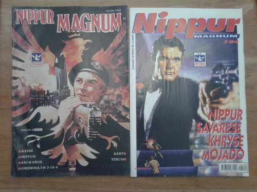 revistas comic nippur