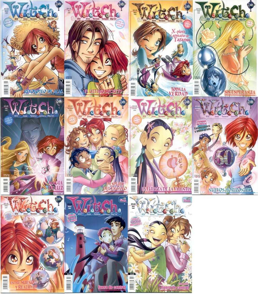 comics de las w.i.t.c.h.en espaol