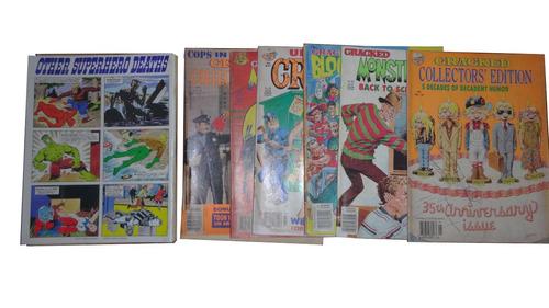 revistas cómicas cracked en idioma inglés