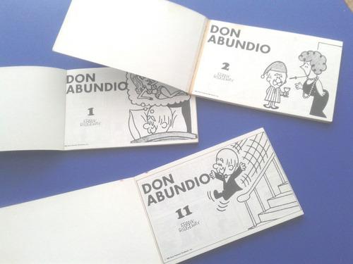 revistas comics don abundio 1987