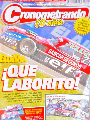 revistas cronometrando 10 años 4 nro 193-5 y 199 precio x vo