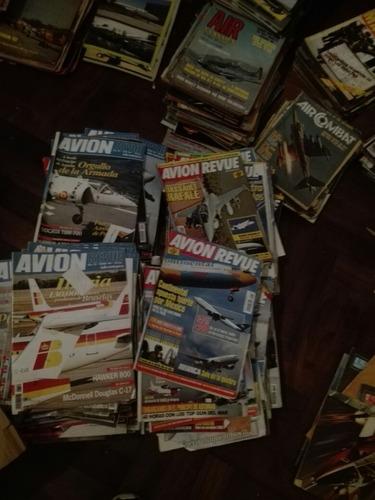 revistas de aviación avion revue lote 172