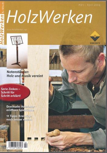 revistas de carpinteria madera - holzwerken