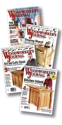 revistas de carpinteria madera woodworker's journal
