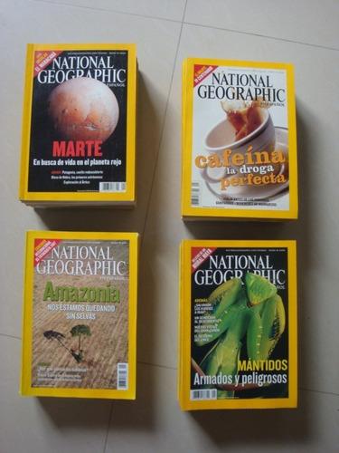 revistas de coleccion national geographic en español