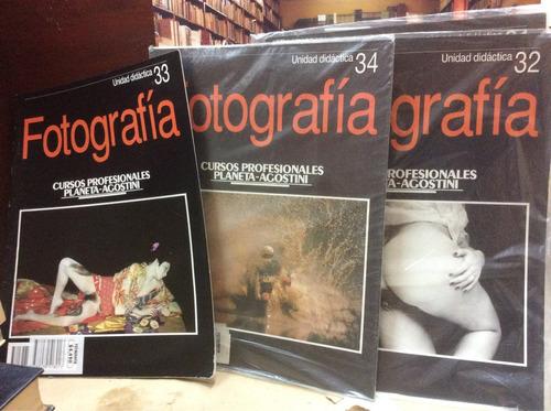 revistas de fotografía, 34 unidades.