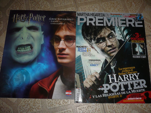 revistas de harry potter de cinemania y cine premier