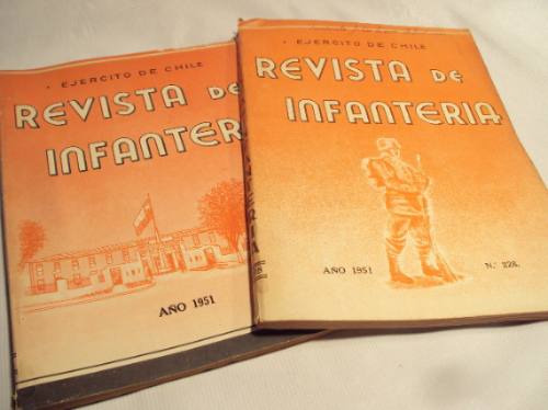 revistas de infanteria 1951 y 1952 ejercito de chile (5)