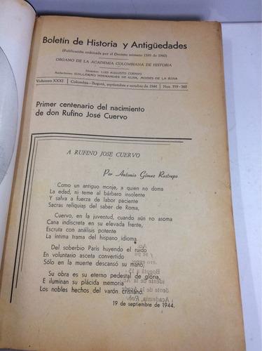 revistas de la academia colombiana de historia