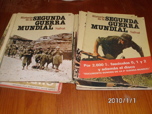 revistas de la segunda guerra mundial permuto