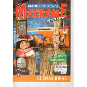 Revistas De Macrame 6 Tapas
