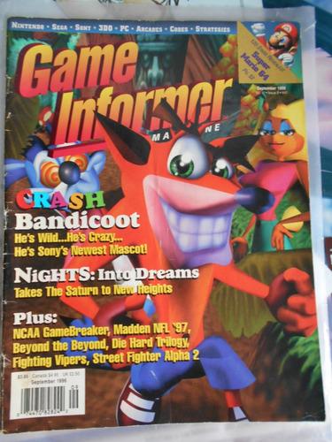 revistas de video juegos egm game informer varios en ingles