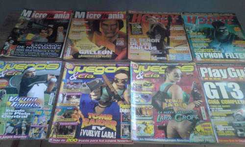 revistas de vídeo juegos para coleccionistas