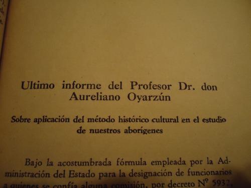 revistas del museo historico nacional de chile